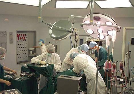 Операционный блок института катетеризации сердца