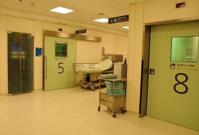 Операционные залы больницы Ассута